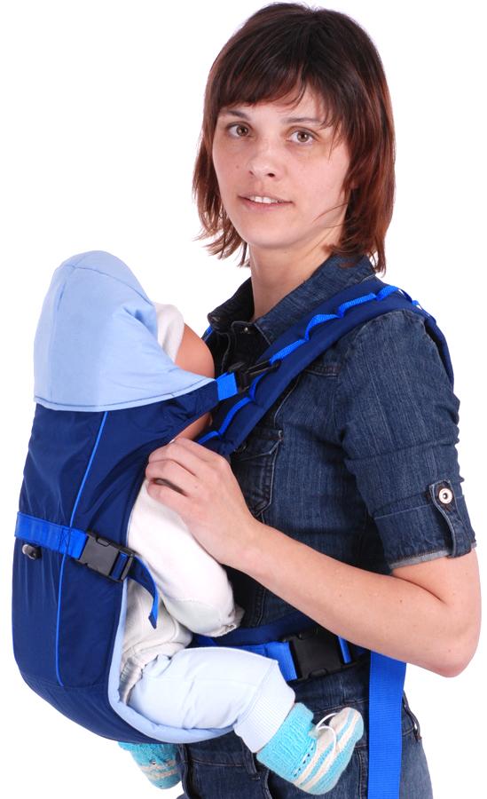 Рюкзак-кенгуру Чудо-Чадо «BabyActive Simple» синий