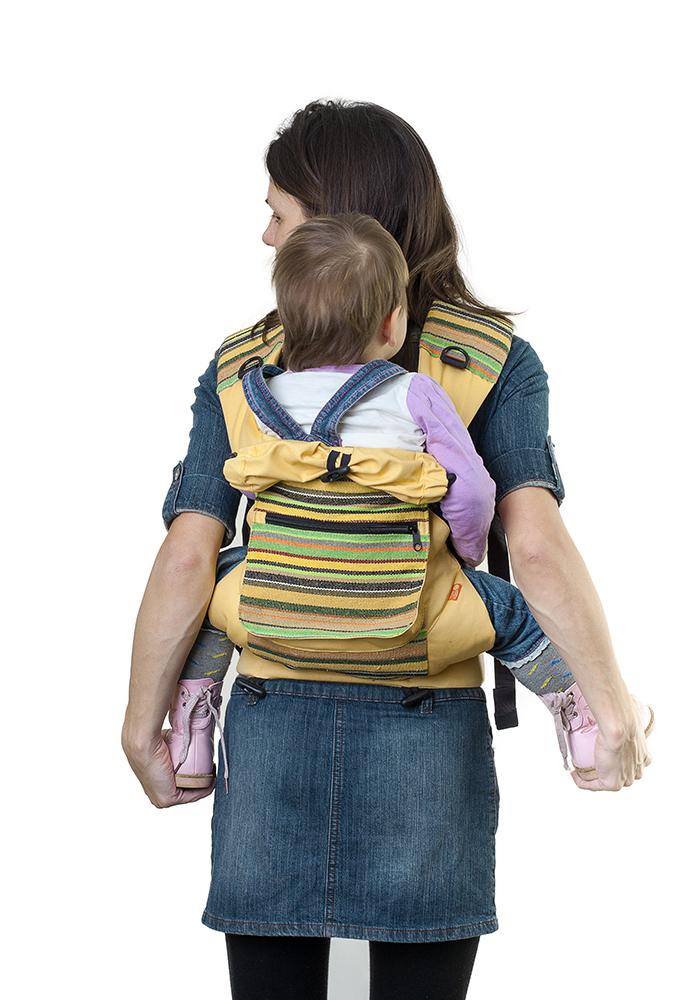 Слинг-рюкзак «Уичоли» - светло-желтый