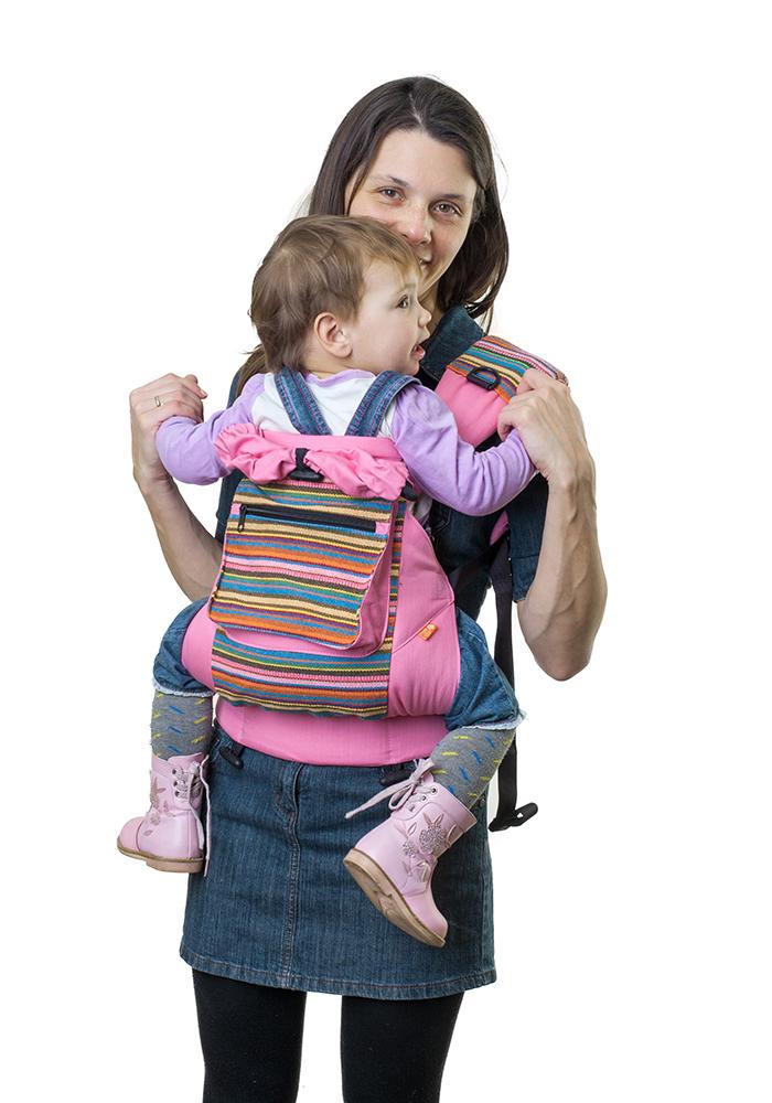 Слинг-рюкзак «Уичоли» - розовый