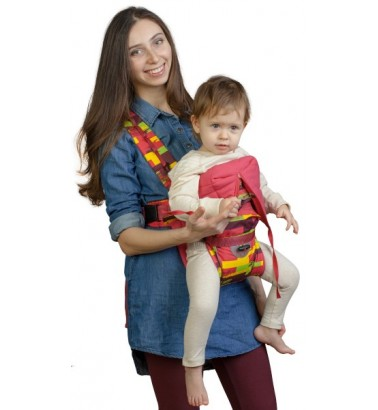 Рюкзак-кенгуру «BabyActive Choice» палитра/бордо