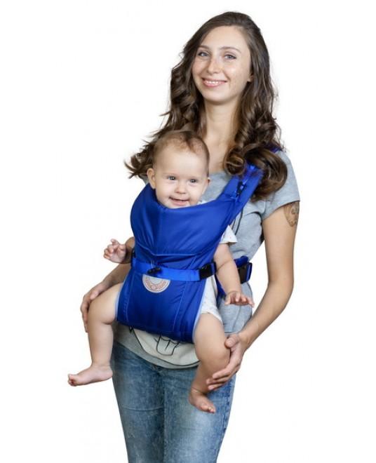 Рюкзак-кенгуру «BabyActive Simple» синий