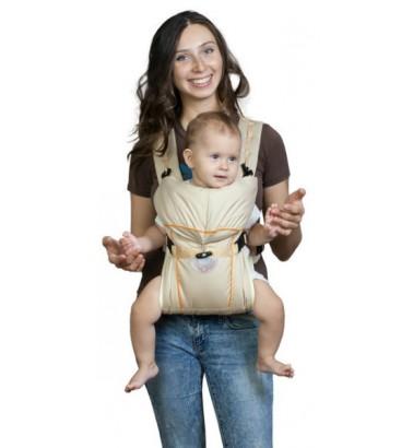Рюкзак-кенгуру «BabyActive Simple» бежевый
