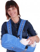 Рюкзак-кенгуру «BabyActive Simple» голубой