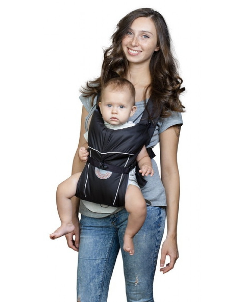 Рюкзак-кенгуру «BabyActive Simple» черный