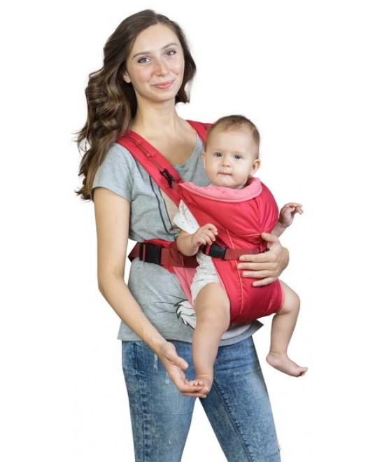 Рюкзак-кенгуру «BabyActive Simple» вишневый