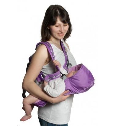 Рюкзак-кенгуру «BabyActive Simple» сиреневый