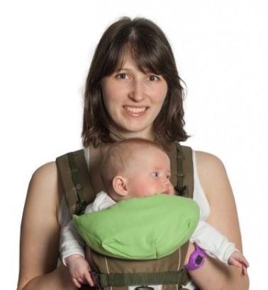 Рюкзак-кенгуру «BabyActive Simple» хаки
