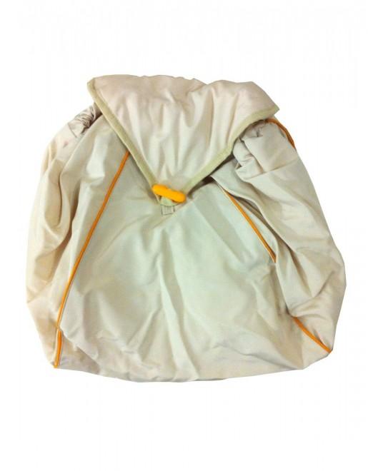 Мешочки на ножки к рюкзаку-кенгуру - бежевые (комплект)