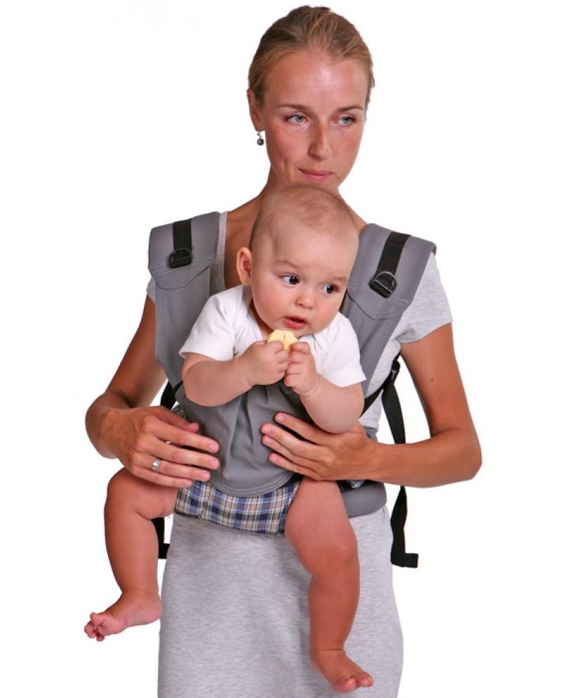 Слинг-рюкзак «Бебимобиль Премьер» серый
