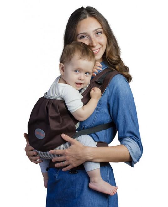 Слинг-рюкзак «Бебимобиль Премьер» шоколадный