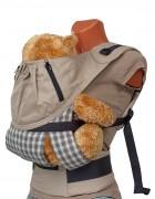 Слинг-рюкзак «Бебимобиль Премьер» бежевый
