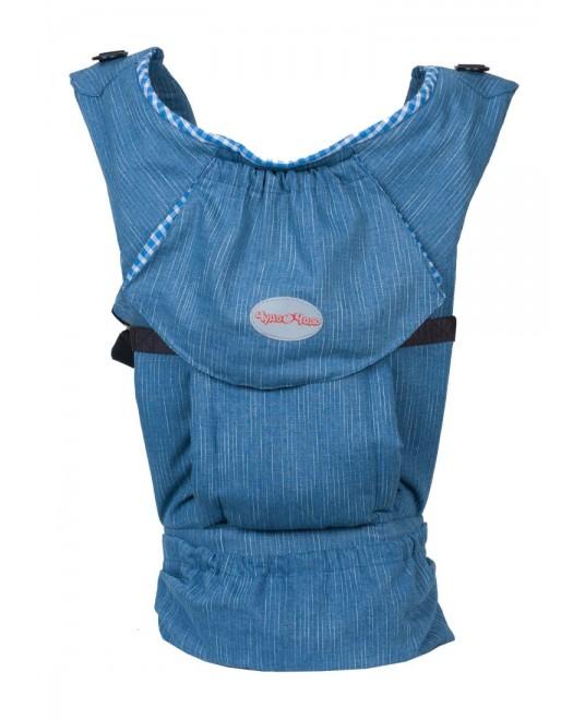 Слинг-рюкзак «Бебимобиль Хип» джинсовый/синий