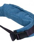 Слинг-рюкзак «Бебимобиль Хип» джинсовый/красный