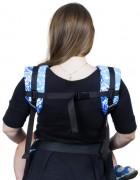 Слинг-рюкзак «Бебимобиль Позитив» бело-синий