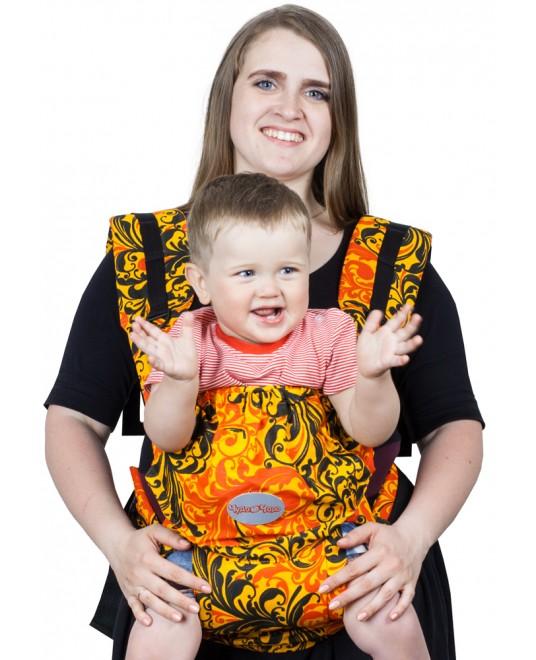 Слинг-рюкзак «Бебимобиль Позитив» хохлома