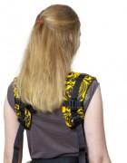 Слинг-рюкзак «Бебимобиль Позитив» чёрно-желтый