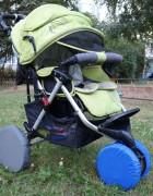 Чехлы на колеса коляски Чудо-Чадо (2 шт., d = 18-23 см)