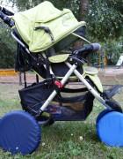 Чехлы на колеса коляски Чудо-Чадо (2 шт., d = 28-34 см)