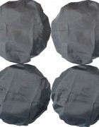 Чехлы на колеса коляски Чудо-Чадо (4 шт., d = 18-28 см)