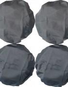 Чехлы на колеса коляски Чудо-Чадо (4 шт., d = 28-34 см)