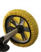 Чехлы на колеса коляски Чудо-Чадо (4 шт., d = 28-38 см)