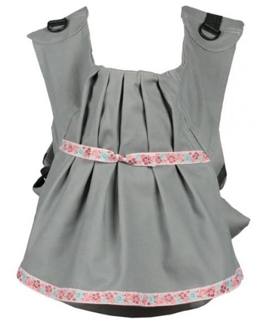 Слинг-рюкзак «Дочкомобиль» серый
