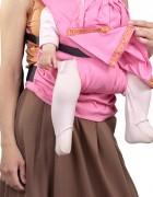 Слинг-рюкзак «Дочкомобиль» розовый