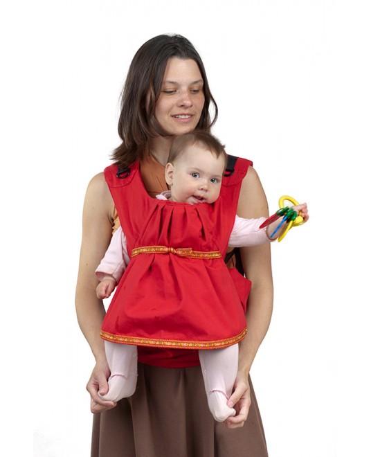 Слинг-рюкзак «Дочкомобиль» красный