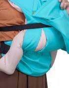 Слинг-рюкзак «Дочкомобиль» голубой