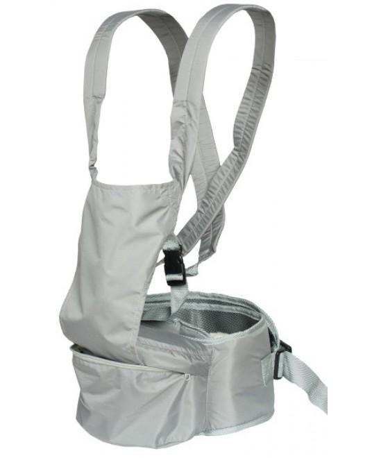 """Хипсит-рюкзак """"Непоседа"""" серый"""