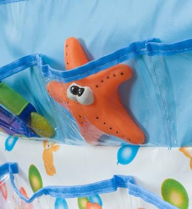 Кармашки в ванную и детскую Капитошка - голубой