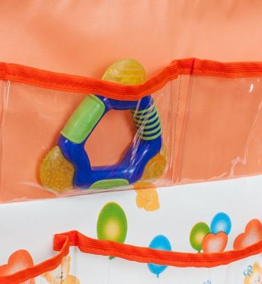 Кармашки в ванную и детскую Капитошка - оранжевый
