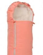 Конверт меховой «Классика» оранжевый