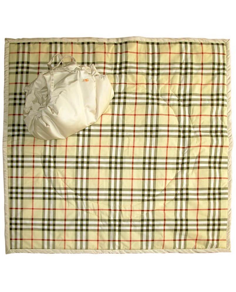 Коврик-сумка Чудо-Чадо - бежевый/беж шотландка