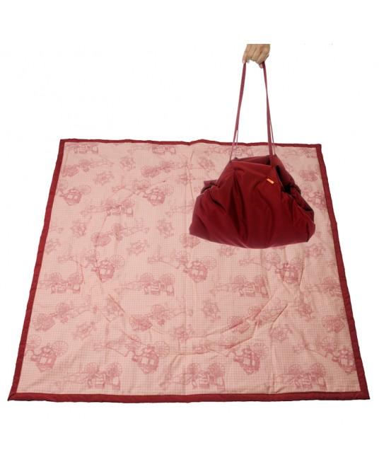 Коврик-сумка Чудо-Чадо - бордовый/фаэтоны