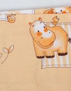 Май-слинг «Детство» зоопарк бежевый
