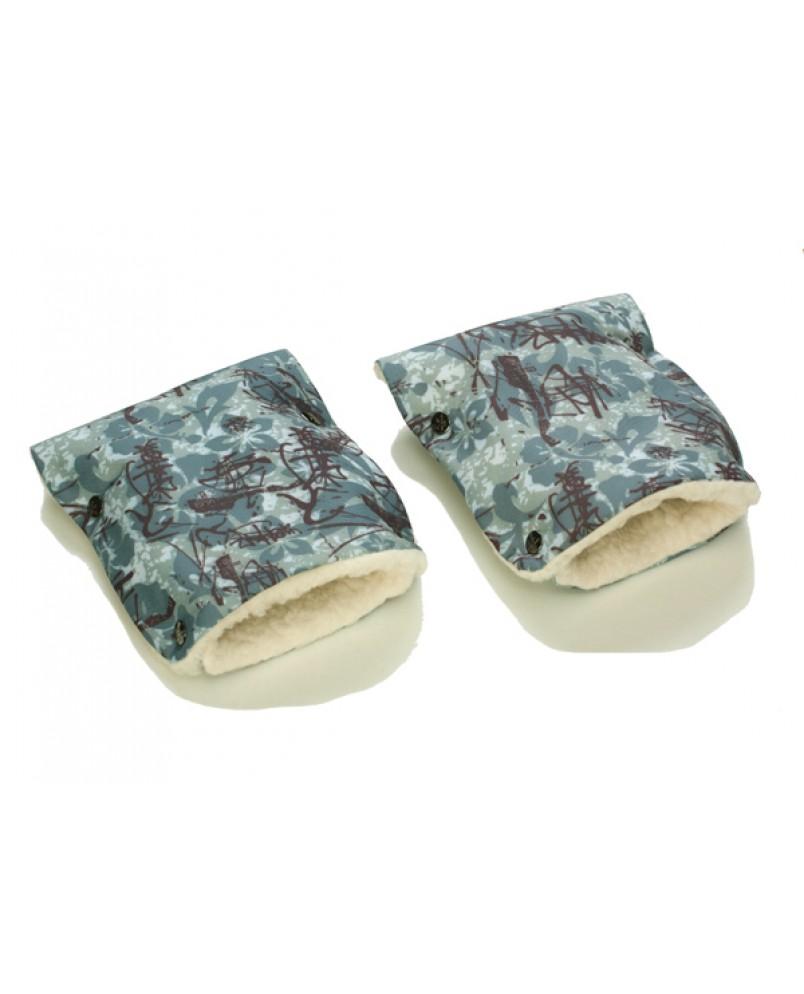 Муфты-рукавички на коляску икебана