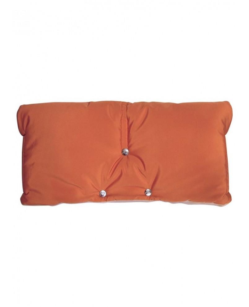 Муфта флисовая (липучка) - оранжевая