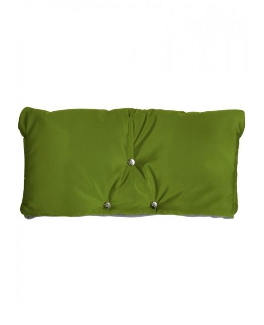 Муфта флисовая (липучка) - зеленая