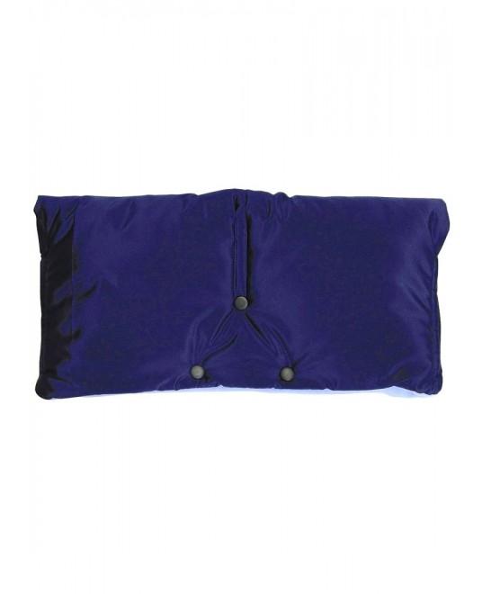 Муфта флисовая (липучка) - темно-синяя