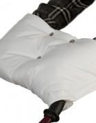 Муфта флисовая (липучка) - белая