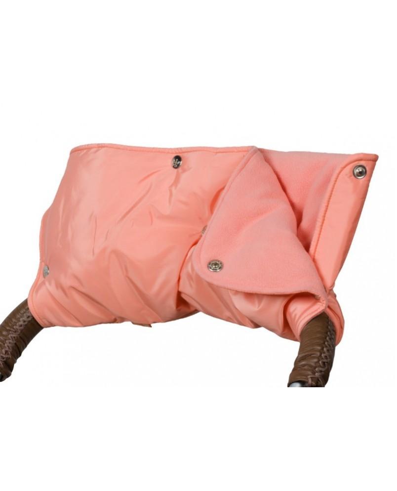 Муфта флисовая (кнопки) - оранжевая