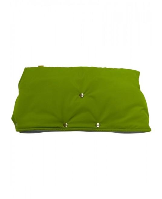 Муфта флисовая (кнопки) - зеленая