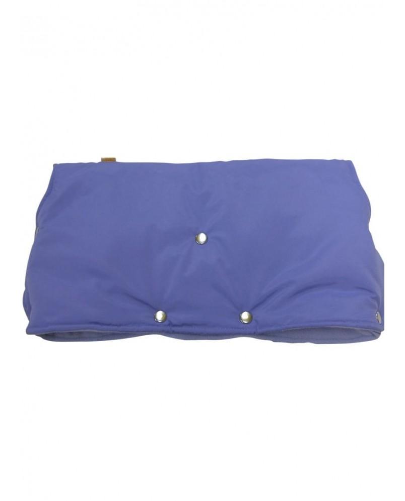 Муфта флисовая (кнопки) - голубая