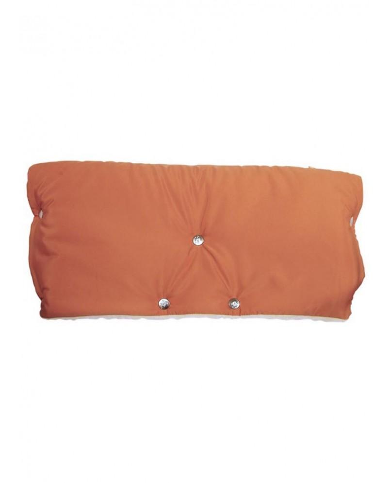 Муфта меховая - оранжевая