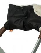 Муфта меховая - черная