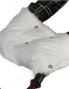 Муфта меховая - белая