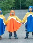 Дождевик «Светлячок» синий/жёлтый