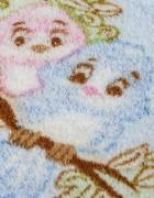 Детский плед зайка/голубой