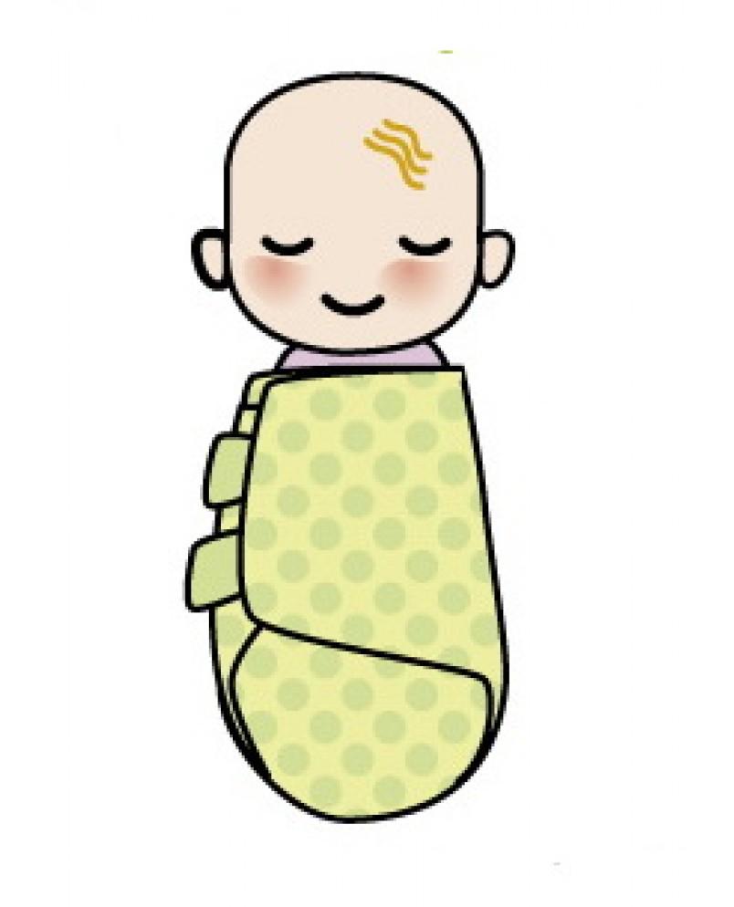 Пелёнка-матрёшка «Бабочка» 54см